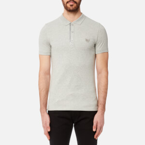 Diesel Men's Kalar Polo Shirt - Light Grey Melange