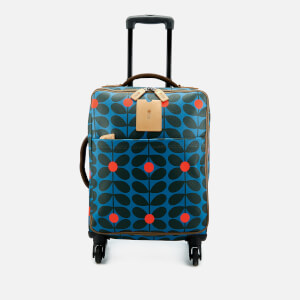 Orla Kiely Women's Sixties Stem Vinyl Travel Cabin Case - Kingfisher