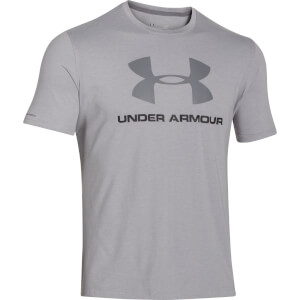 Under Armour Men's CC Sportstyle Logo T-Shirt - Grey