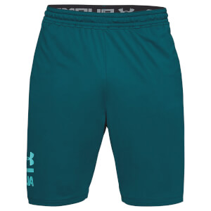 Under Armour Men's MK1 Graphic Shorts - Green