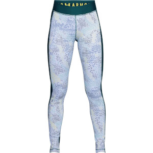 Under Armour Women's HeatGear Armour Printed Leggings - Green