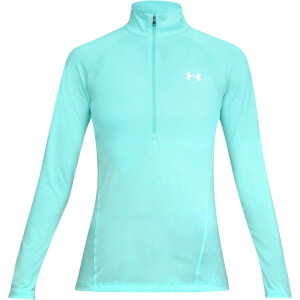 Under Armour Women's Tech 1/2 Zip Long Sleeve Top - Blue