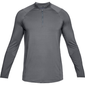 Under Armour Men's MK1 1/4 Zip Long Sleeved Top - Grey