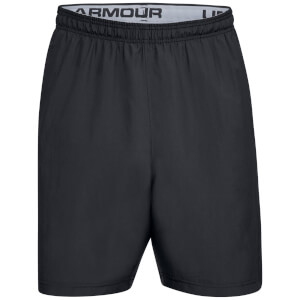 Under Armour Men's Woven Graphic Wordmark Shorts - Black