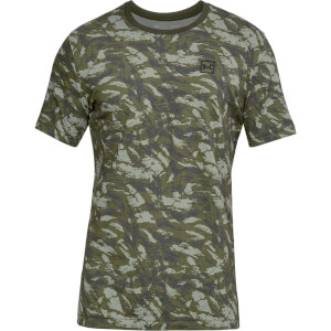 Under Armour Men's AOP Sportstyle T-Shirt - Green