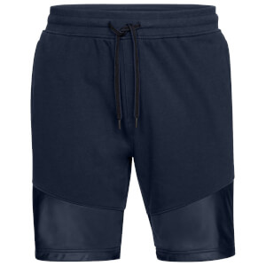 Under Armour Men's Threadborne Terry Shorts - Navy