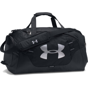 Under Armour Undeniable Duffle Bag 3.0 - Medium - Black/Silver