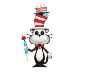 Dr. Seuss Cat In The Hat with Cake & Umbrella EXC Pop! Vinyl Figur