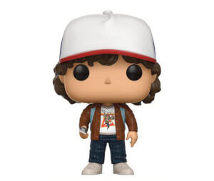 Stranger Things Brown Jacket Dustin EXC Pop! Vinyl Figure