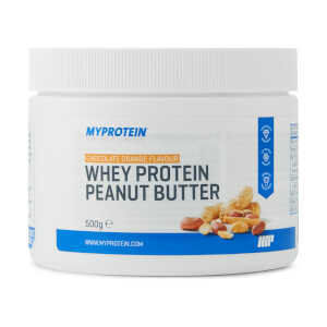 Whey Protein Peanut Butter, Chocolate Orange, 500g