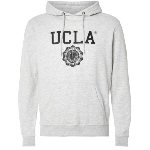UCLA Men's Colin Logo Hoody - Light Grey Marl