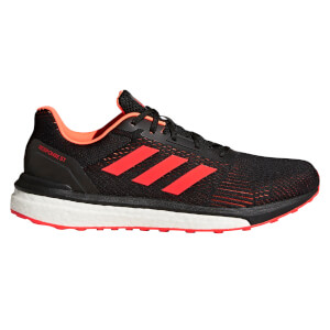 adidas Men's Response ST Running Shoes - Black/Orange