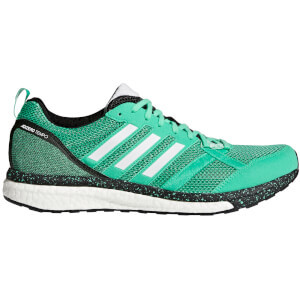adidas Men's Adizero Tempo 9 Running Shoes - Green/White