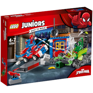 LEGO Juniors: Spider-Man vs. Scorpion straatduel (10754)