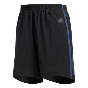 adidas Men's Response 7 Inch Shorts - Black/Indigo