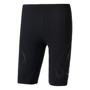 adidas Men's Adizero SW Running Half Tights - Black