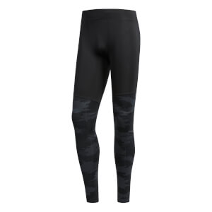 adidas Men's TKO Running Tights - Black/Carbon