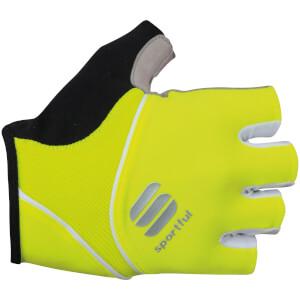 Sportful Women's Pro Gloves - Yellow Fluo