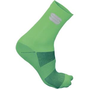 Sportful Ride 15 Socks - Green Fluo