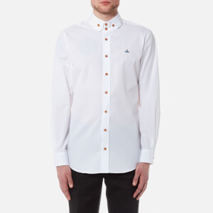 Vivienne Westwood MAN Men's Firm Poplin Krall Shirt - White
