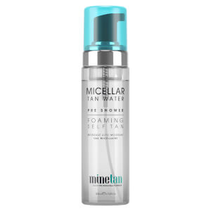 MineTan Micellar Water Pre-Shower Foaming Self Tan