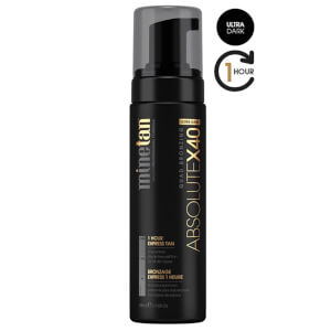 MineTan Absolute Self Tan Foam X40