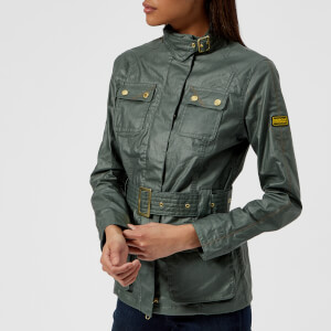 Barbour International Women's Bearings Jacket - Light Khaki