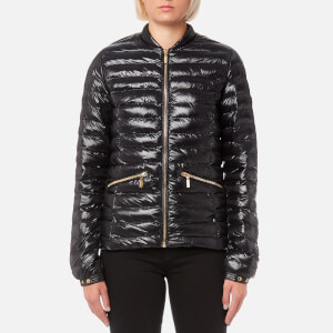 Barbour International Women's Lapper Quilt Jacket - Black
