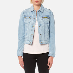 Barbour International Women's Durness Casual Denim Jacket - Bleached