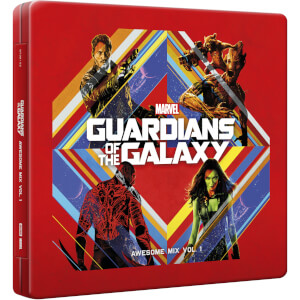 Zavvi UK Exclusive Guardians of the Galaxy: Vol - 1 CD Steelbook