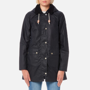 Barbour Women's Whitmore Wax Jacket - Royal Navy