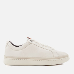 UGG Men's Cali Lace Low Cupsole Trainers - Parchment