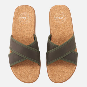 UGG Men's Seaside Slide Sandals - Antelope