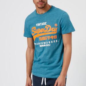 Superdry Men's Premium Goods Duo T-Shirt - Frontier Teal