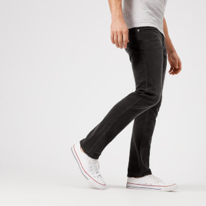Superdry Men's Slim Jeans - Dust Pipe Black