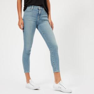 J Brand Women's Alana High Rise Cropped Skinny Jeans - Surge