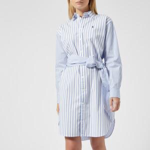 Polo Ralph Lauren Women's Blake Shirt Dress - Blue