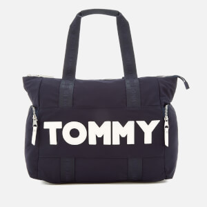 Tommy Hilfiger Women's Tommy Nylon Tote Bag - Navy