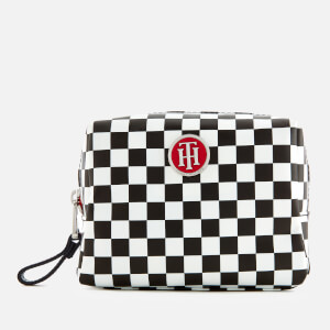 Tommy Hilfiger Women's Poppy Make Up Case - Checker Board