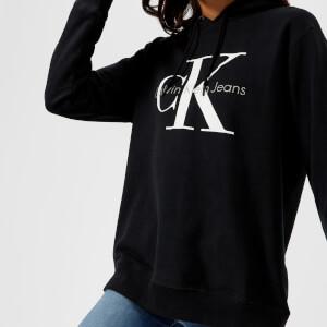 Calvin Klein Women's CK True Icon Hoody - Black