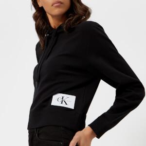 Calvin Klein Women's True Icon Hoody - Black