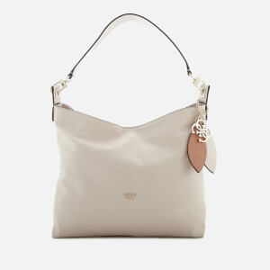 Guess Women's Lou Lou Hobo Bag - Stone