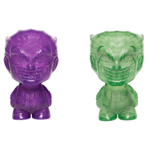 DC Joker Purple and Green Hikari XS Vinyl Figure 2 Pack