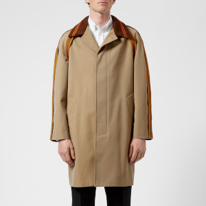 Maison Margiela Men's Super Bull Raglan Sleeve Overcoat - Beige