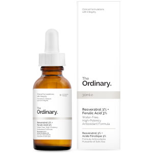 Sérum com 3% de Resveratrol + 3% de Ácido Ferúlico da The Ordinary