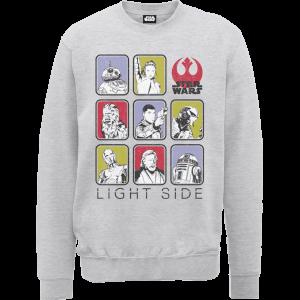 Star Wars Die letzten Jedi (The Last Jedi) Light Side Grau Pullover