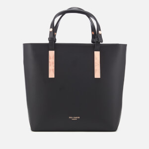 Ted Baker Women's Jaceyy Adjustable Handle Zip Shopper Bag - Black