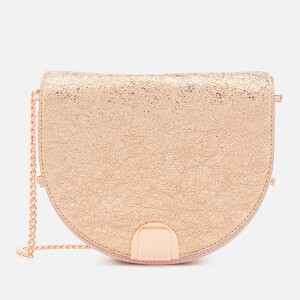 Ted Baker Women's Roxaane Flip Clasp Moon Bag - Rose Gold