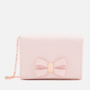 Ted Baker Women's Stacyy Looped Bow Evening Bag - Light Pink
