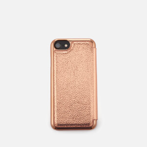 Ted Baker Women's Cedar Textured iPhone Book Case - Rose Gold